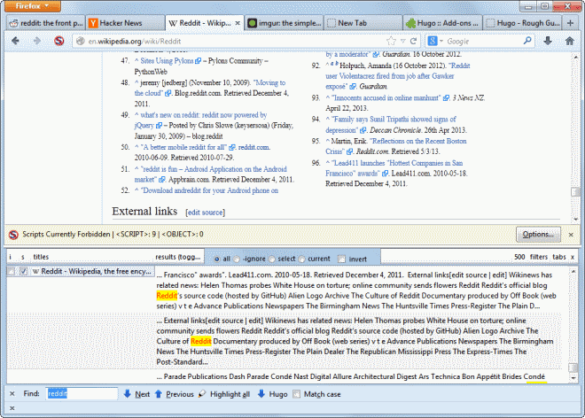 firefox search all tabs