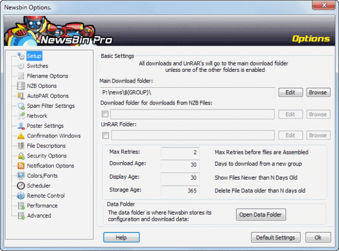 Give NewsBin a speed boost with these performance tips