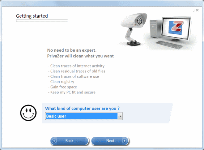 PrivaZer 2 0 improves basic user interface and clean-ups