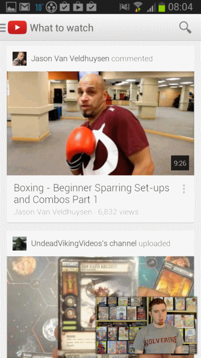 youtube 5 app android