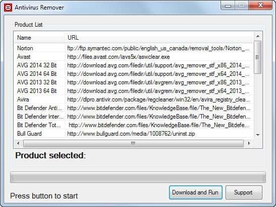 antivirus remover