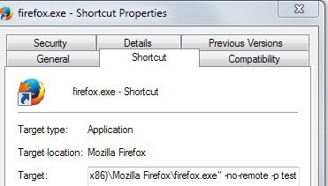 firefox different versions