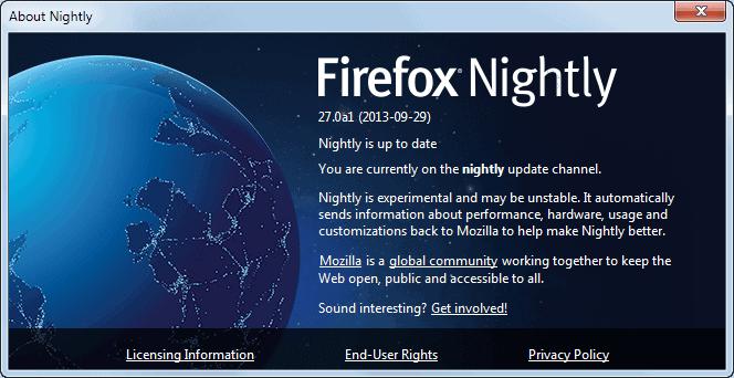firefox nightly balrog