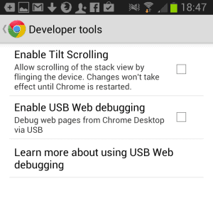 fix slow chrome for android browser