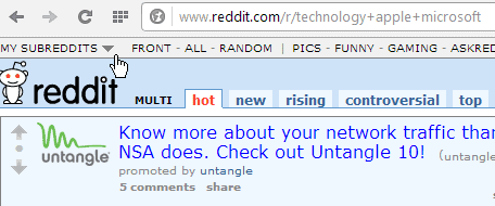 Image of: Front Multi Groups On Reddit Technorms How To Browse Multi Subreddits At Once Without Account On Reddit