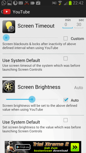 custom screen brightness android