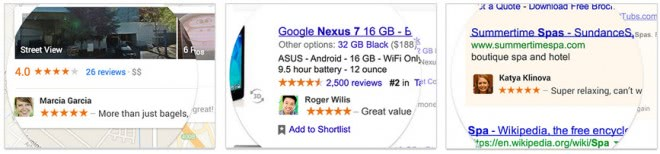 google shared endorsement ads
