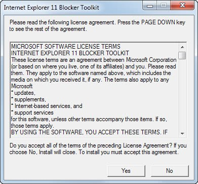 Internet Explorer 11 Allow Blocked Content