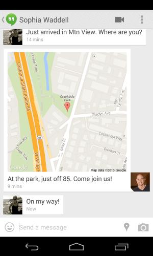 location sharing