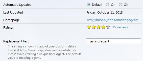 masking agent