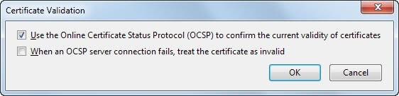oscp server connection