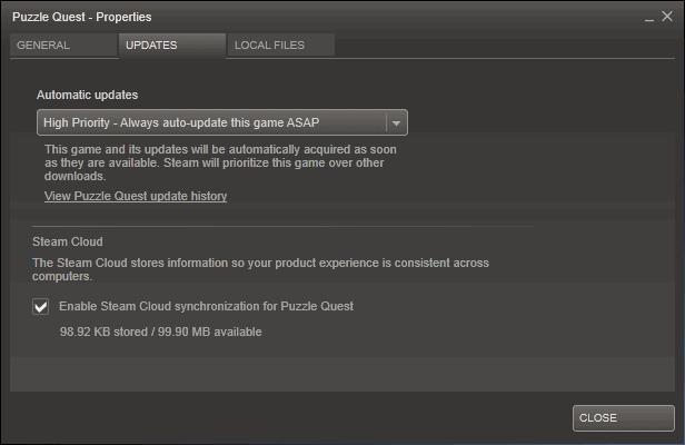 steam high priority update
