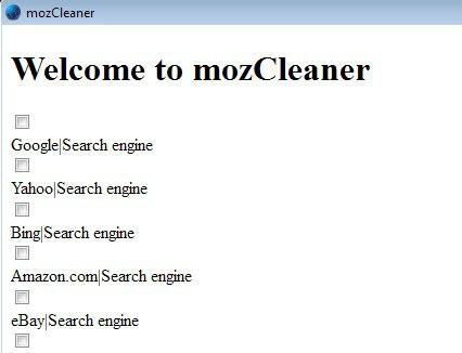 mozCleaner