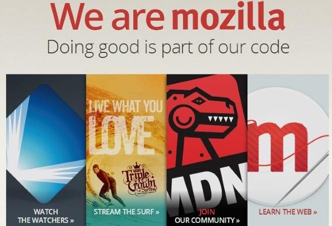 mozilla annual report