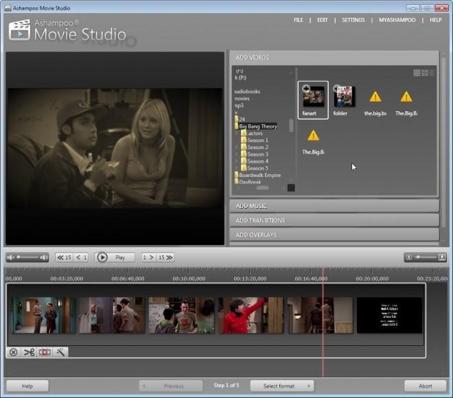 ashampoo movie studio review