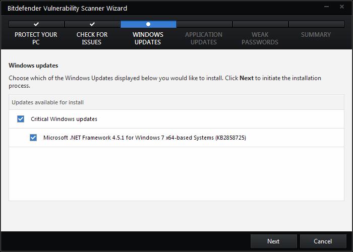 bitdefender windows updates