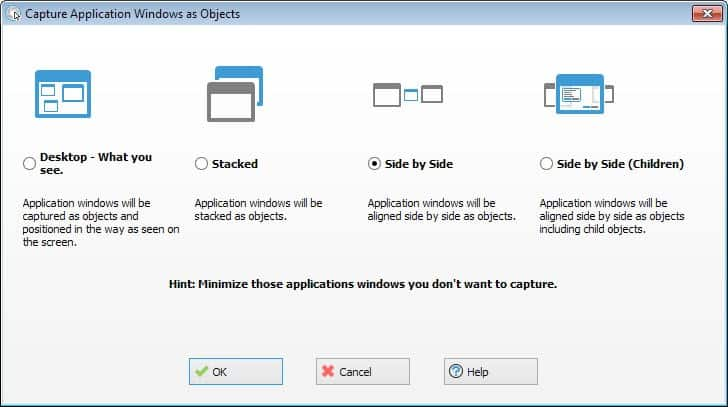 capture application windows