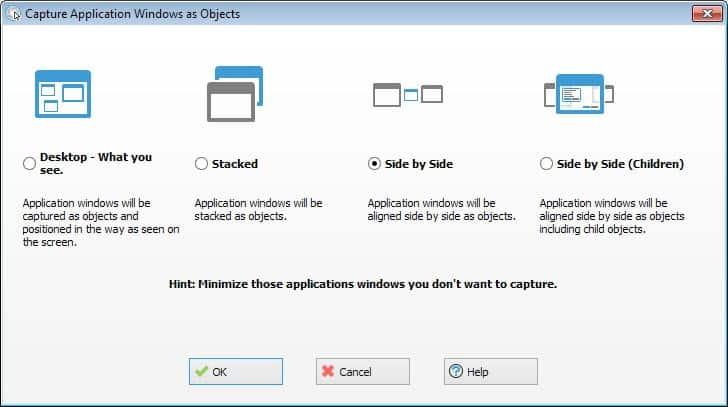 capture application windows