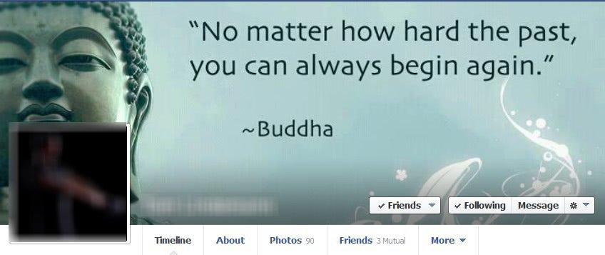 following button facebook