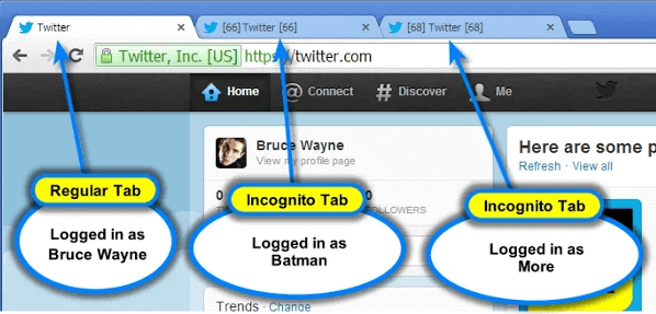 Multi-Account Login for Chrome lets you log in into services