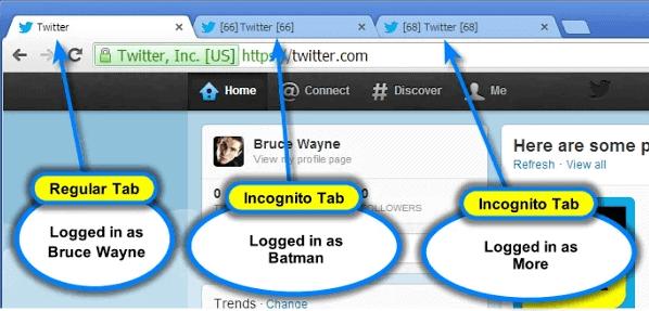 google chrome multi account login