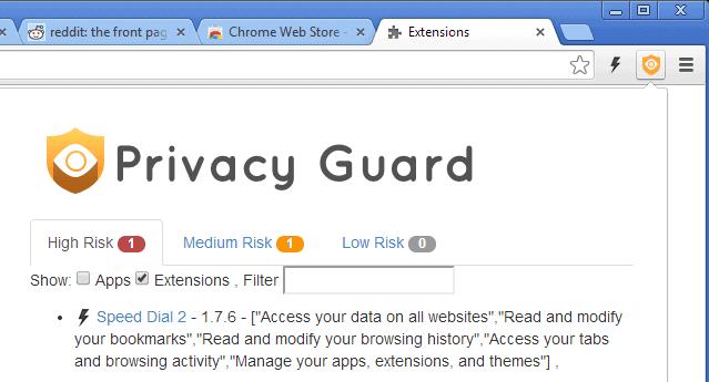 chrome privacy guard