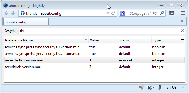 Upcoming security improvements in Firefox 27 in regards to TLS support