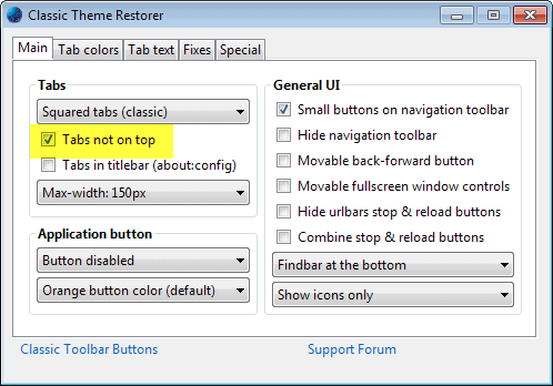 How to restore Tabs On Bottom in Firefox - gHacks Tech News