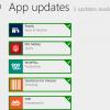updates application windows 8