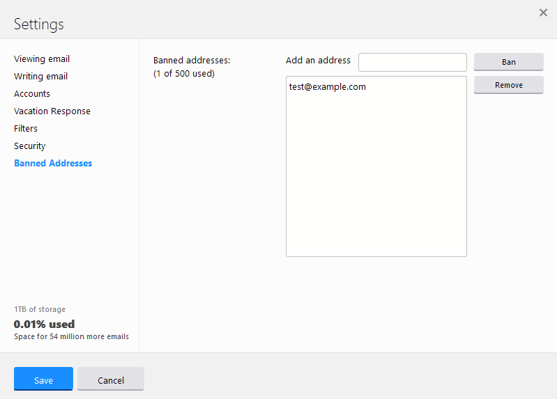 Yahoo Mail: How to filter and block email addresses