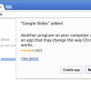 chrome web store rating extension
