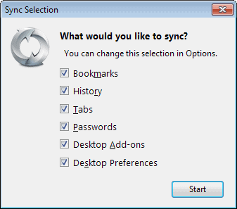 customize sync