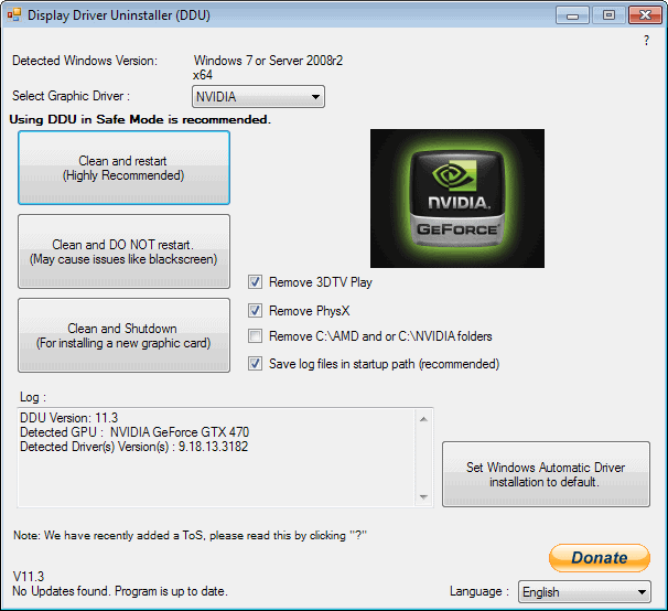 DOWNLOAD DRIVERS: UNINSTALL ATI GRAPHICS