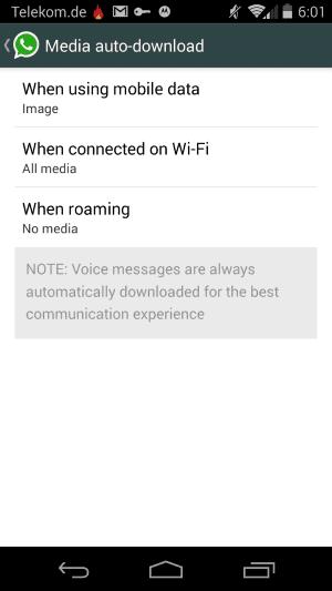 media auto download