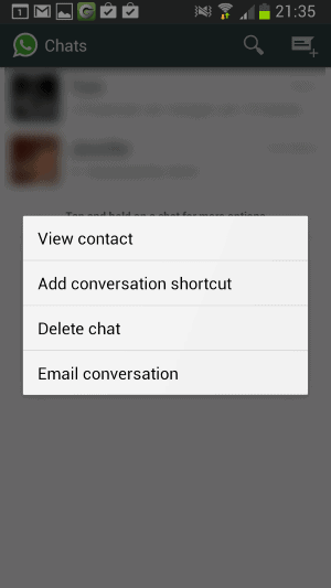 Create shortcuts for important WhatsApp contacts - gHacks Tech News