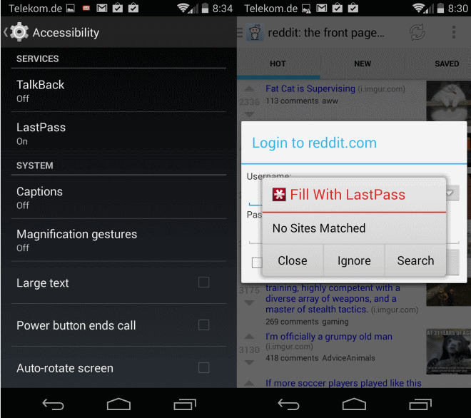 LastPass Premium for Android gets auto log-in feature for apps