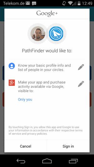 pathfinder permissions