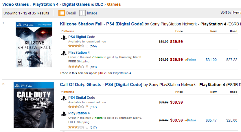 playstation store codes amazon