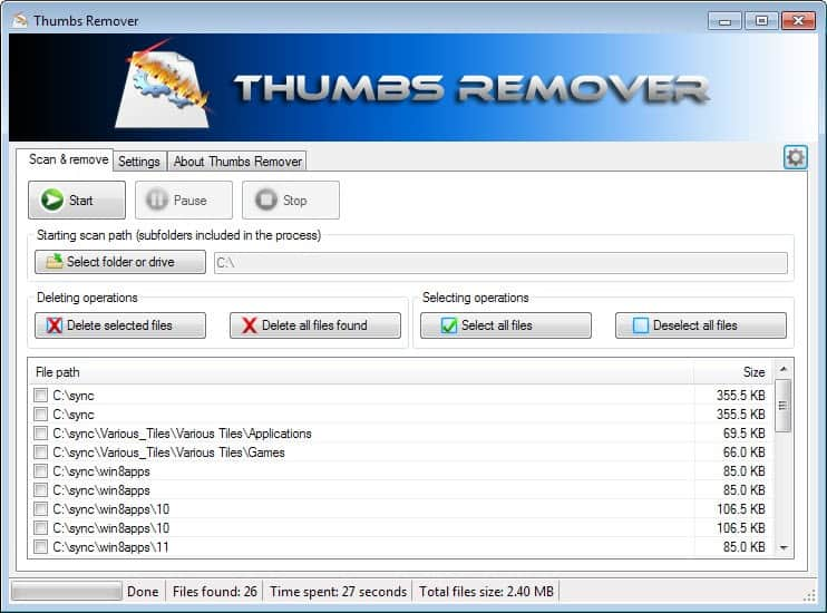 All you need to know about thumbnail cache files in Windows