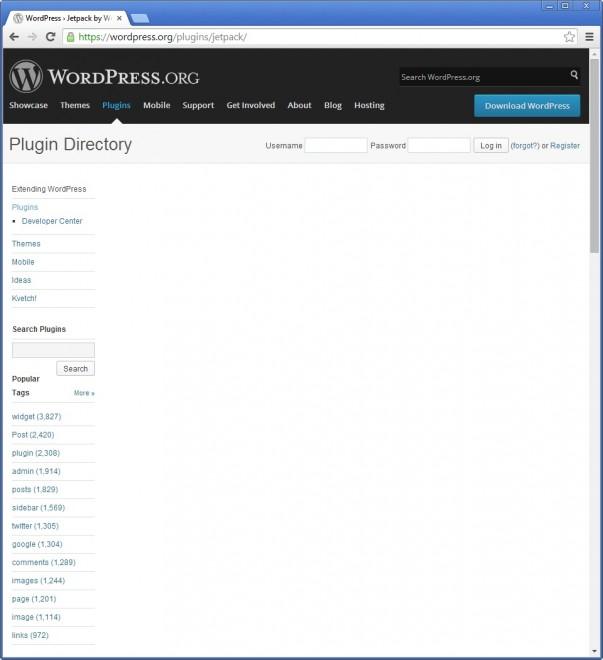 wordpress plugin directory broken