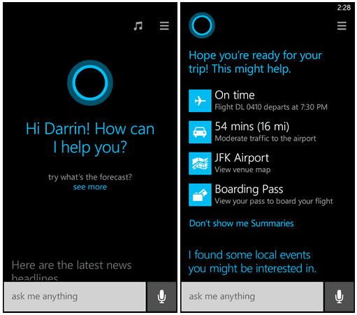 The future of the digital assistant Cortana