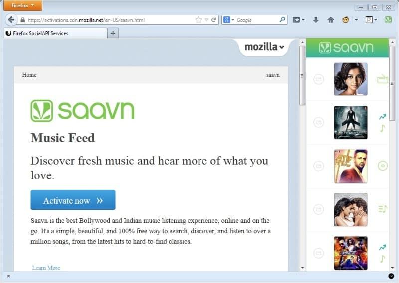 firefox social network sidebar