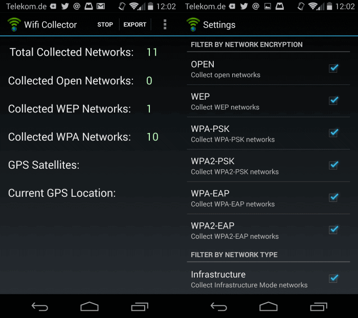 wifi collector