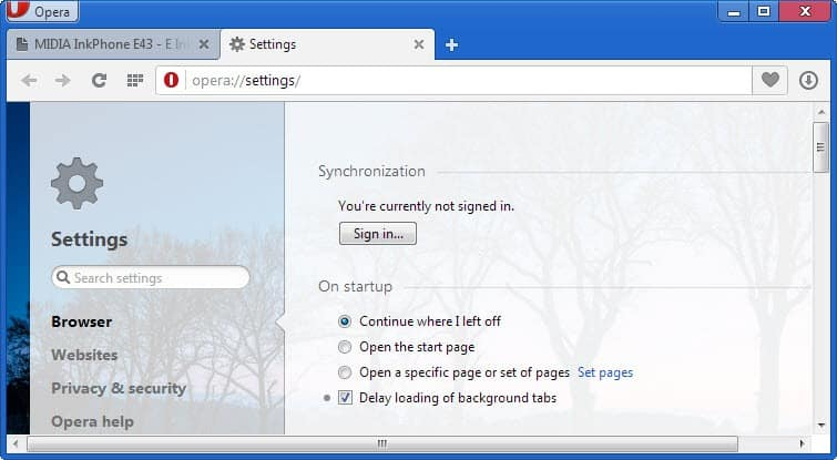 delay loading background tabs