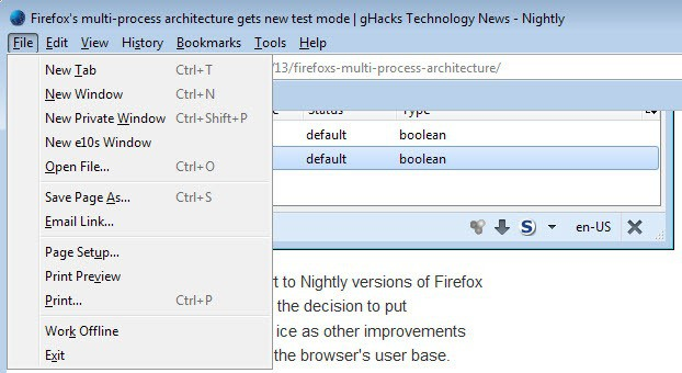 firefox multi process architecture