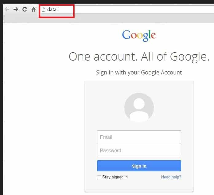 gmail phishing data