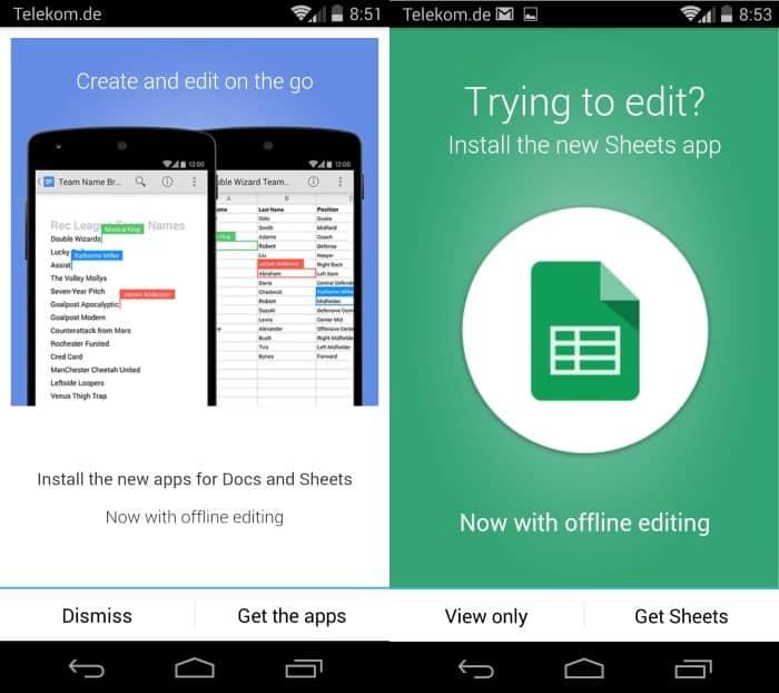 google drive update