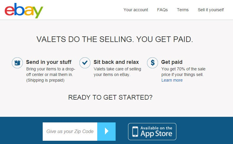Should you use eBay's Valet service to sell items?