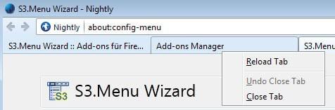 firefox edit menus