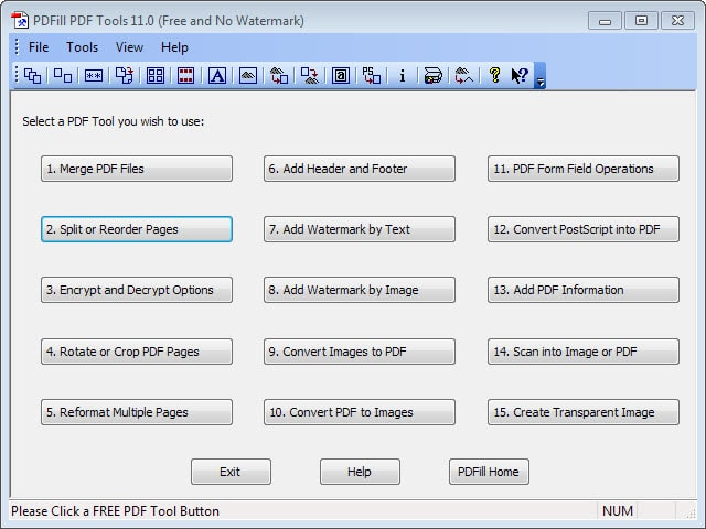 free pdf tools